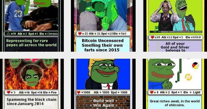 En ligne, certaines images rares de «Pepe la grenouille» peuvent être échangées pour plus de 30.000 euros.