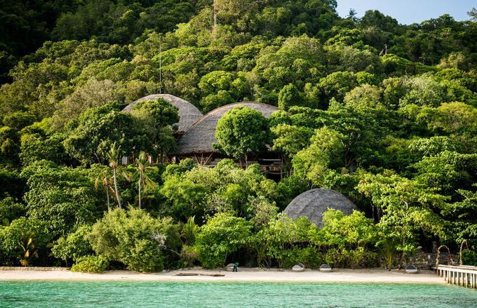 Entre plage et forêt tropicale humide, les îlots privés de Bawah Private Island passent pour les «nouvelles Maldives».
