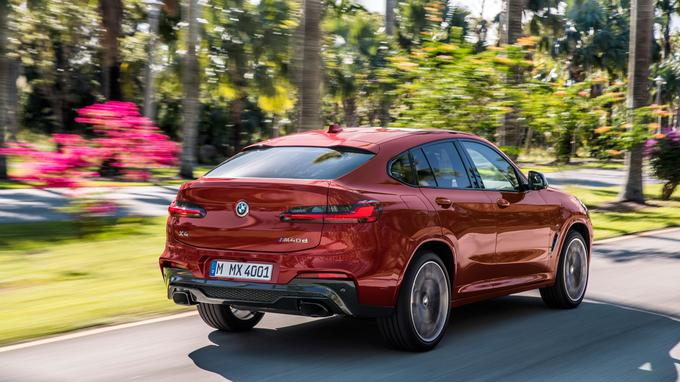 Le X4 est disponible en version M40d avec un diesel de 326 ch.