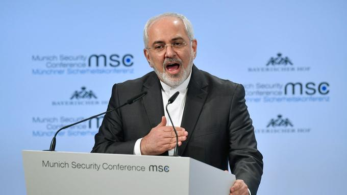 Mohamad Javad Zarif, ministre des Affaires étrangères iranien.