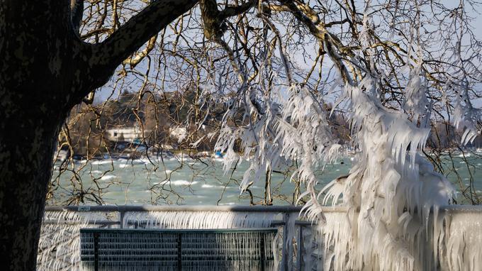 Le lac Léman, à Genève.