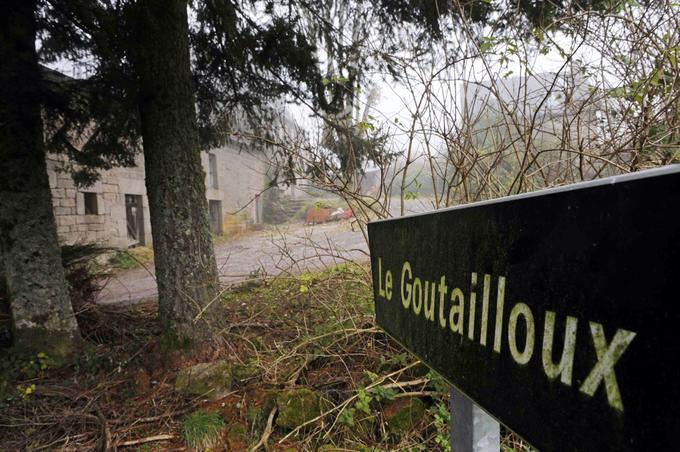 La ferme du Goutailloux, située non-loin du petit village de Tarnac