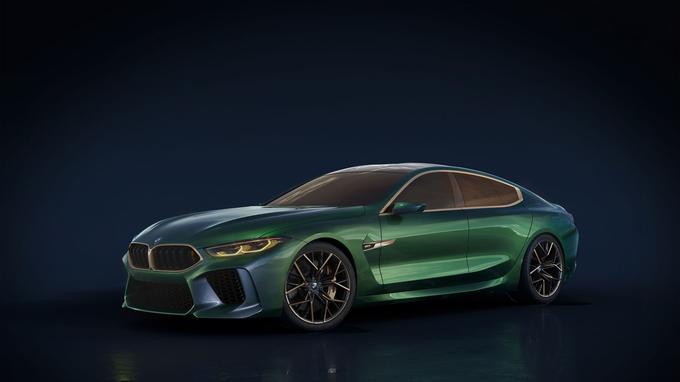 Concept de M8 Gran Coupé de BMW.