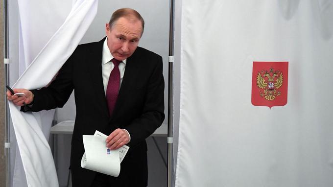 Vladimir Poutine dimanche matin.