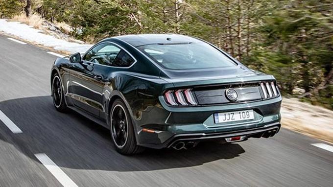 La Mustang Bullit ne sera disponible qu'avec une transmission manuelle à six rapports.