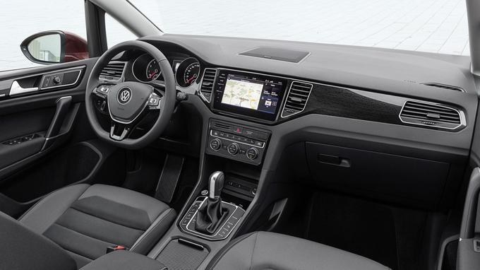 À l'instar de la Golf, le modèle Sportvan se convertit à la dernière évolution du système d'infodivertissement. Il participe à l'agrément général.