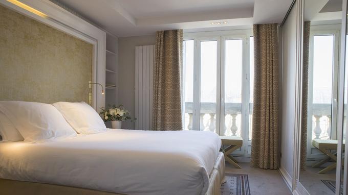 Chambre de luxe à Saint-Germain-des-Prés