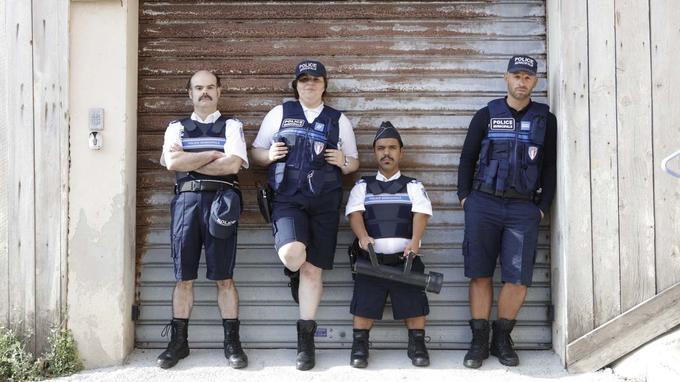 «La fine équipe de la police municipale marseillaise» qui sauve le film d'après «Le Monde».