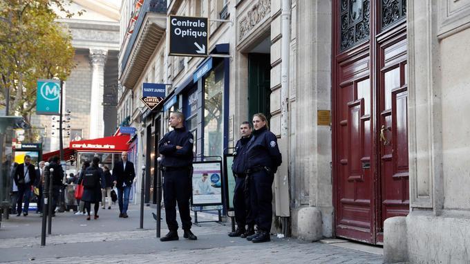La vedette américaine logeait ici rue Tronchet dans le VIIIe arrondissement.