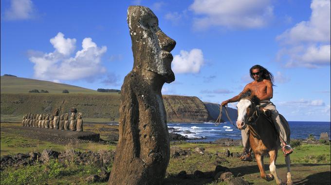 Les mystérieux Moais qui représentent les ancêtres des Pascuans, n'ont pas encore livré tous leurs secrets...