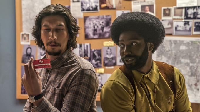 Adam Driver et John David Washington dans le nouveau film de Spike Lee.