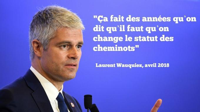 Pour Laurent Wauquiez, il était «absurde» de ne pas voter la réforme de la SNCF.