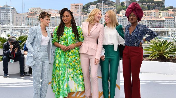Les femmes du jury, présidé par Cate Blanchett.