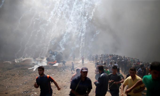 Au moins 43 Palestiniens ont perdu la vie ce lundi à la frontière avec Israël