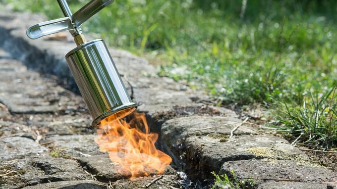 Le désherbage thermique a l'inconvénient d'être coûteux en énergie et de dégager du CO2.