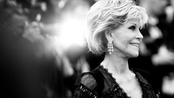 L'actrice américaine de 80 ans était cette année à Cannes l'héroïne d'un film biographique, «Jane Fonda in Five Acts»