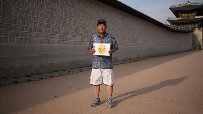 Noh Yong-taek, retraité de 66 ans.