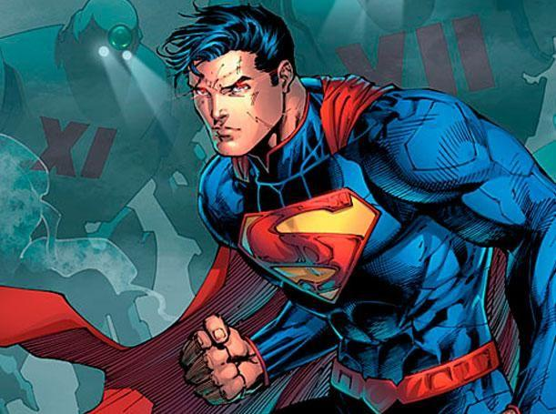 Le Superman de Jim Lee.