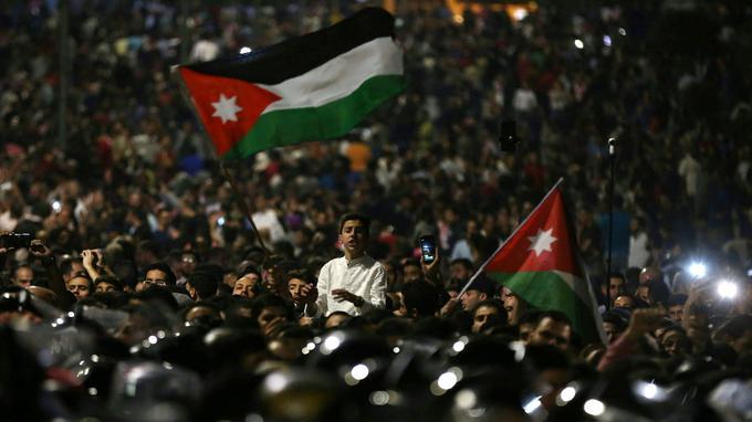 Manifestation à Amman le 3 juin