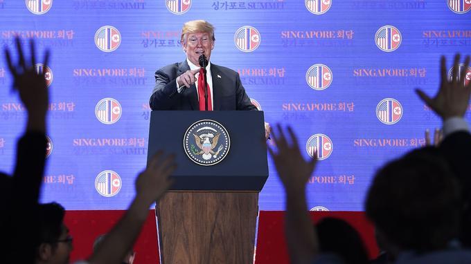 Pendant plus d'une heure, le président des États-Unis a répondu aux questions des journalistes.