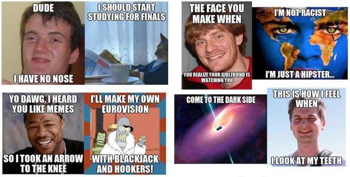 Les memes produits par l'intelligence artificielle