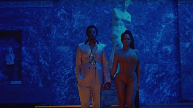 Jay-Z et ses deux «Vénus de Milo».
