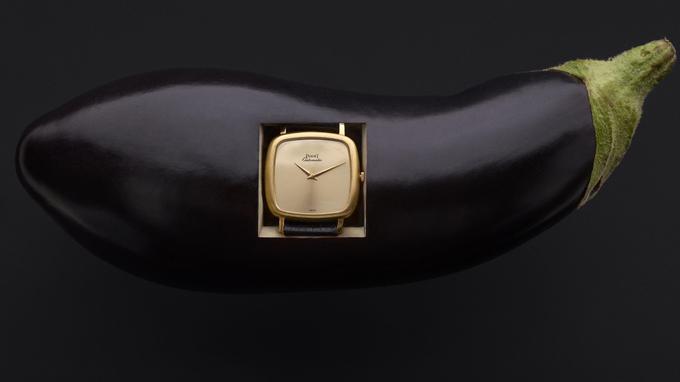 Montre en or jaune, calibre automatique 12P, vers 1974, Piaget. Est. 2000 - 3000€.