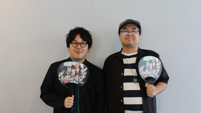 Yusuke Fujita et Daiki Fukuska réalisent et produisent l'animé de «Radiant».