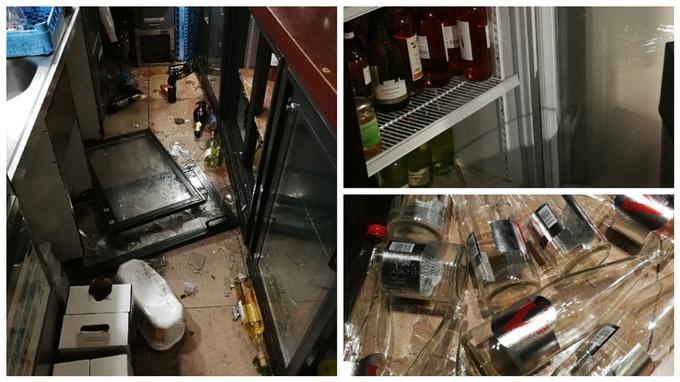 Le restaurant Bistrot Romain a subi d'importants dégâts. De nombreuses bouteilles d'alcool ont été volées dans la nuit de dimanche à lundi.