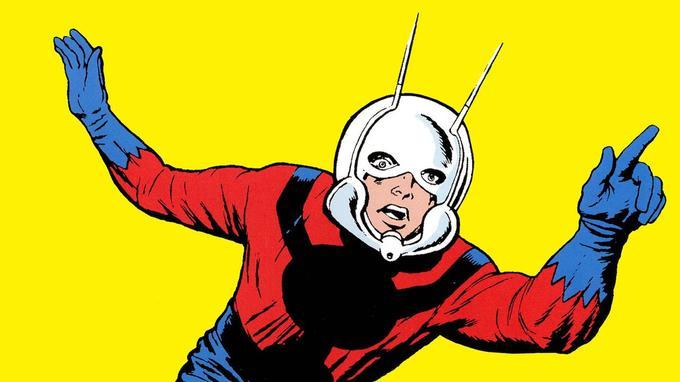Le premier Ant-Man dessiné par Jack Kirby, en 1962.