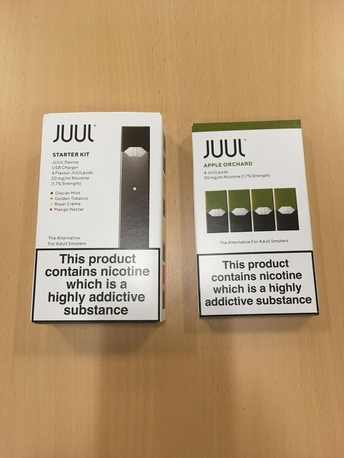 Des kits de démarrage JUUL