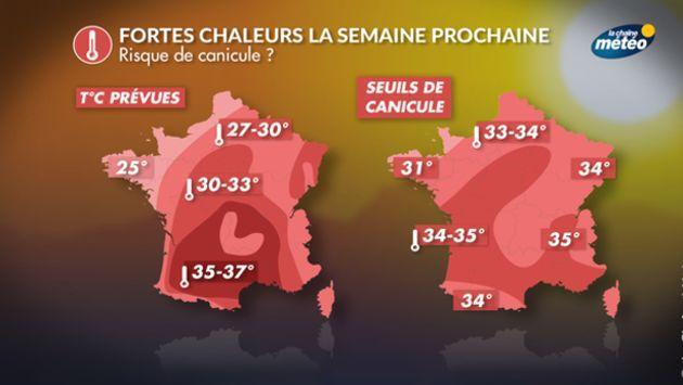 598d21706bb7a2 Une vague de chaleur attendue sur la France toute la semaine