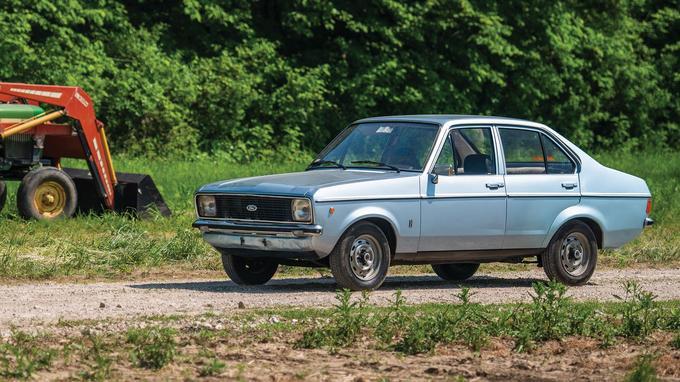 La Ford Escort 1100 GL du pape Jean-Paul II est un modèle de 1976.