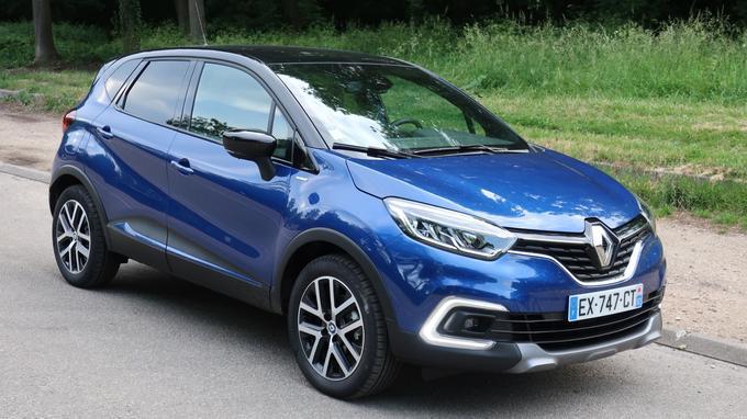 Le Renault Captur arrive en troisième position parmi les voitures rêvées des Français.