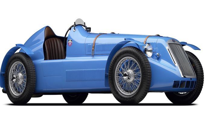 Delage D6 Grand Prix de 1946.