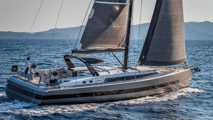 L'Oceanis Yacht 62, voilier amiral de la gamme Bénéteau.