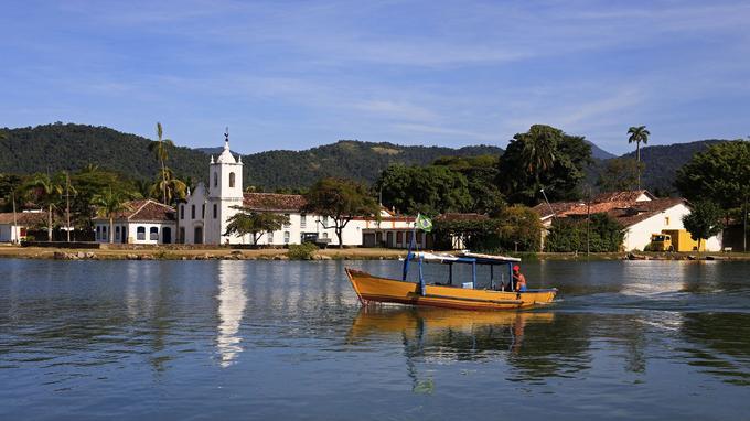 Photo réf. Brésil village de Paraty scène de vie @ Snaptitude AdobeStock
