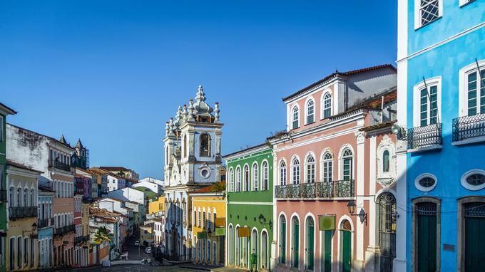Photo réf. Brésil Salvador de Bahia quartier de Pelourinho @ Diego Grandi AdobeStock
