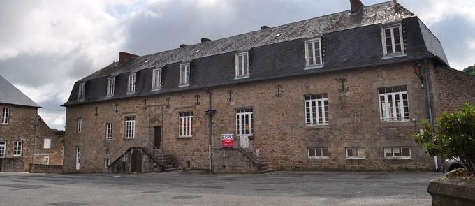 Bâtiment de l'abbaye abritant la pépinière d'artistes.
