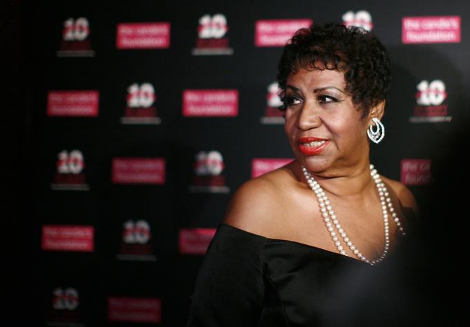 Malgré la maladie, Aretha Franklin (ici en 2011, lors d'un gala de charité) est restée fidèle à ses engagements sociaux.