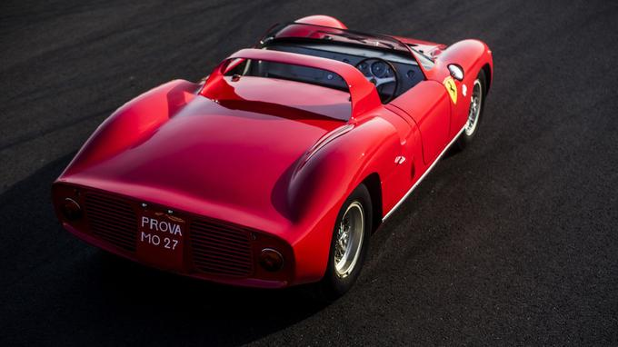 La 250 P - 275 P n'est pas seulement l'un des prototypes les plus performants de son époque mais aussi l'un des plus gracieux.