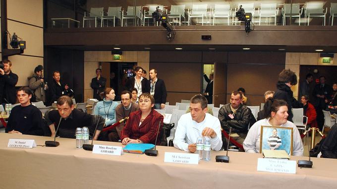 Les acquittés d'Outreau témoignent devant la commission d'enquête, le 18 janvier 2006.