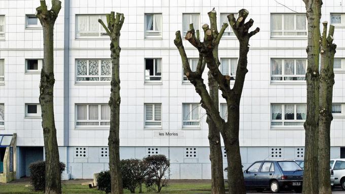 L'immeuble Les Merles où habitait le couple Delay-Badaoui, à Outreau.