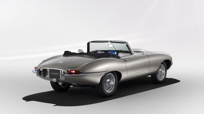 Jaguar assure que l'opération est réversible et qu'à tout moment, la Type E peut retrouver son moteur XK.