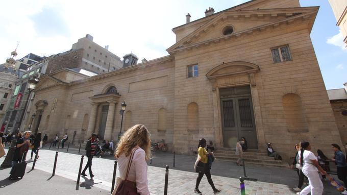 L'église Saint-Louis d'Antin devant laquelle a eu lieu la bagarre mortelle, ici en 2018.