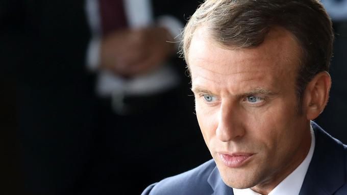 Emmanuel Macron, le 29 août à Copenhague.