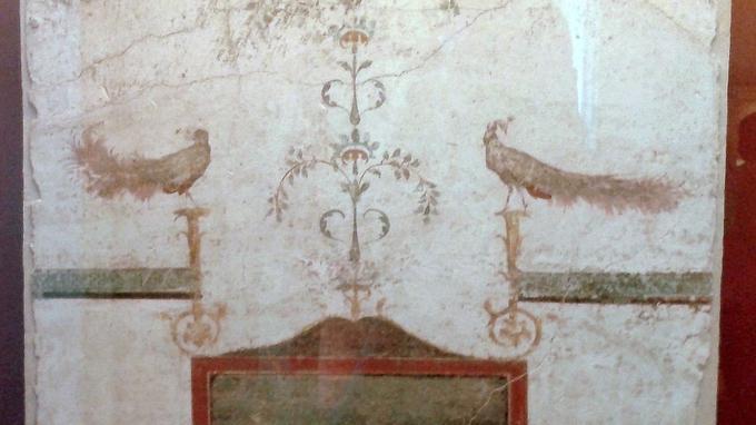 La fresque de Pompéi.