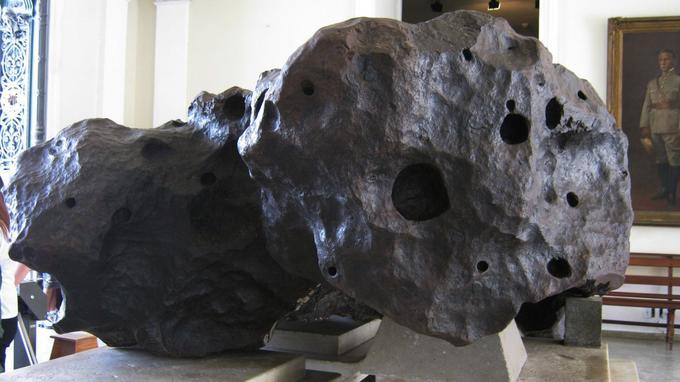 La météorite Bendegó sauvée.