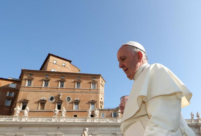 Le pape François au Vatican mercredi 29 août.