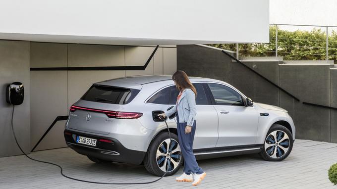 Mercedes a prévu une multitude de solutions pour recharger l'EQC.
